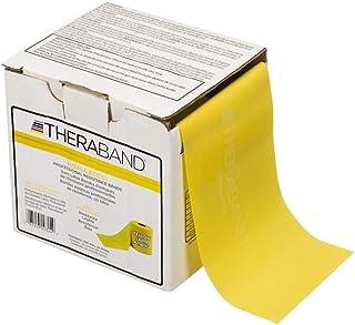 [(セラバンド) THERABAND] [Resistance Band 50ヤードロール弾性バンド ピラティス、リハビリ、ディスペンサーボックス、初心者レベル2] (並行輸入品) [並行輸入品]