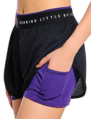 Damen 2in 1Sport Shorts