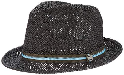 ESPRIT Accessoires Herren 030EA2P302 Panama-Hut, 001/BLACK, L