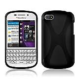 Cadorabo Hülle für BlackBerry Q10 Hülle in Handyhülle
