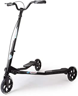 AODI 3 Wheeled Scooter - Height Adjustable Push Swing Wiggle Scooters with Drifting Self Propelling for Boys/Girl/Adult Age 9 Years Old and Up (Renewed)