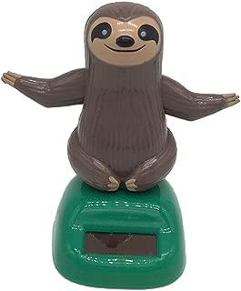 Puckator Solar Sloth - Fun Animal Zoo Solar Pal - Dancing Toy Window Sill Decoration