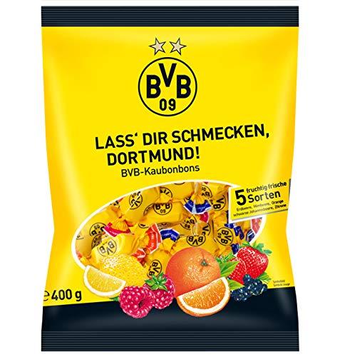 Woogie Borussia Dortmund BVB Kaubonbons, 1er Pack (1 x 400g)