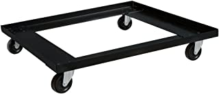 Norwood Commercial Furniture Heavy-Duty Stack Chair Dolly, Black, NOR-TY-701-DY