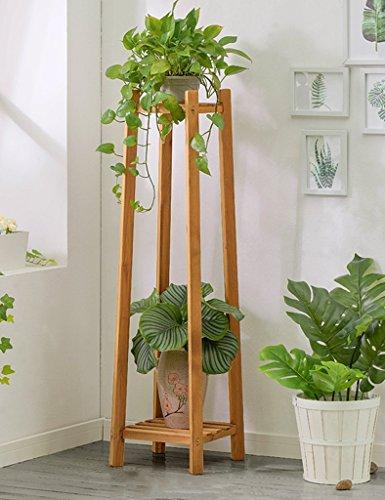 WSSF- Fleur Rack Creative Salon En Bois Fleur Présentoir Multi-couche En Bois Massif Balcon Fleur Pot Taille De L'étagère En Option (taille : 30 * 30 * 120cm)