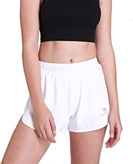 Camel Crown Women Athletic Shorts Sport Shorts for Running Workout Fitness with Built-in Shorts