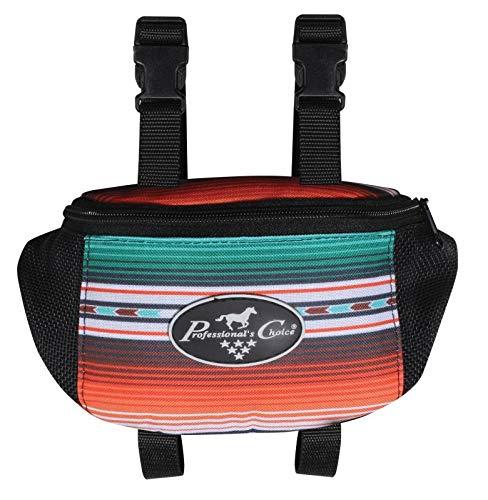 Professional's Choice Sports Medicine Products Saddle Pommel Bag Horse Riding Gear Holder Bearpaw Santiago