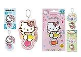Hello Kitty Kit 3 Deodoranti Profumatore Air freshener (Ciliegie, Fragola, Zucchero Filato)