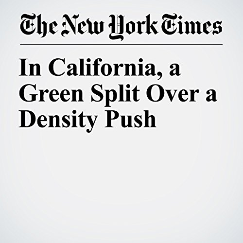 In California, a Green Split Over a Density Push audiobook cover art