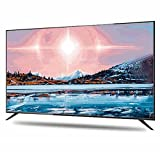 Smart TV 73/87 CM Smart HD 1080p TV, Android, Full HD LED TV, IPS Hard Screen, Tecnología de Gran Angular de 178 °, Tecnología de Audio HiFi, Smart WiFi, Ahorro de energía, Negro