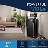 Photo #3: DeLonghi Portable Air Conditioner, 14000 BTU (PACEX390LVYN)