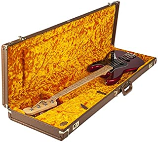 Fender Deluxe Brown Case for Jazz Bass
