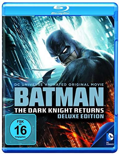 Batman - The Dark Knight Returns 1+2 [Blu-ray] [Deluxe Edition]
