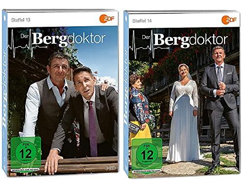 Der Bergdoktor Staffel 13+14 [DVD Set]