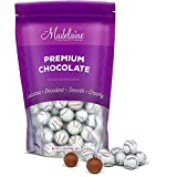 Madelaine Solid Premium Milk Chocolate Baseball Candy Party Favors Wrapped In Italian Foil (1 LB)