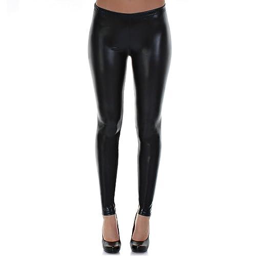 Damen Mädchen Leggings Mit Muster 34-38 Größe S-m Neu