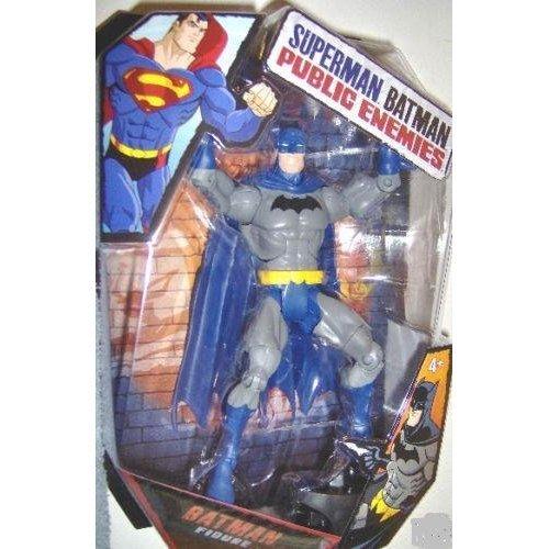 dc comics of public enemies Mattel DC Superman Batman Public Enemies Action Figure Batman Build Brimstone Piece! Blue Cape