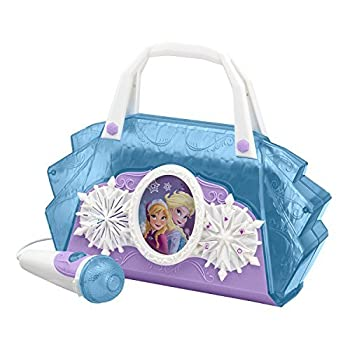 Disney Frozen Anna & Elsa Cool Tunes Sing Along Boombox With Microphone With Built In Tunes or Connect Your MP3