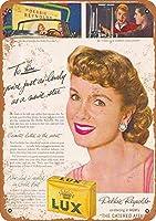 Lux Debbie Reynolds 注意看板メタル安全標識注意マー表示パネル金属板のブリキ看板情報サイントイレ公共場所駐車ペット誕生日新年クリスマスパーティーギフト