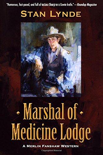 Book: Marshal of Medicine Lodge - A Merlin Fanshaw Western by Stan Lynde