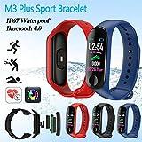 Smartwatch M3 Plus Heart Rate Fitness Tracker SmartBand OLED Smart Wrist Sports Pulsera Pantalla Colorida