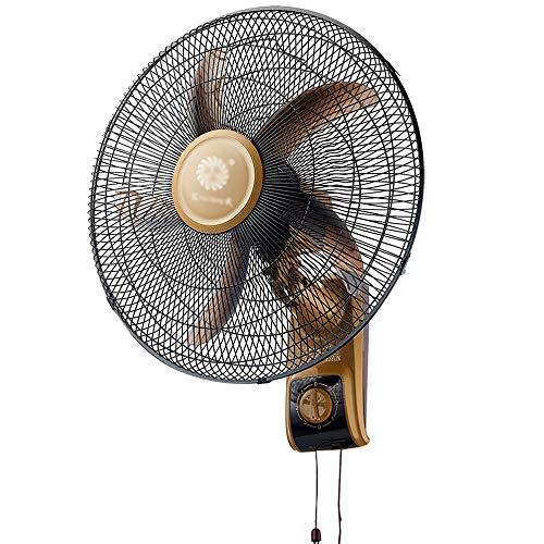 MAMINGBO 18'Ventilador montado en la Pared Funcionamiento silencioso Ventilador de Pared oscilante Ventilador de Aire Fresco con 3 configuraciones de Velocidad for el Verano en el hogar/Oficina