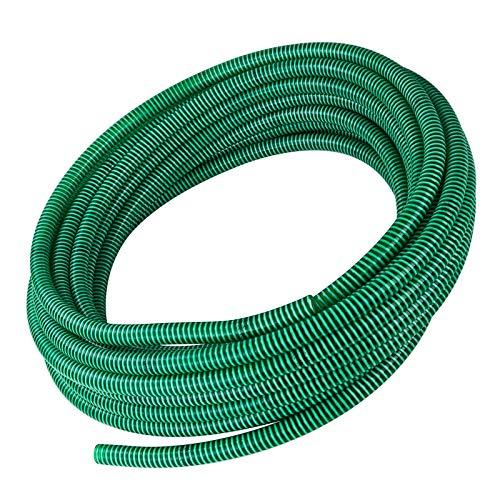 STABILO Sanitaer Spiralschlauch 1 1/4 Zoll 30/32 mm 25m PVC Schlauch Saugschlauch Teichschlauch Druckschlauch Spiralsaugschlauch