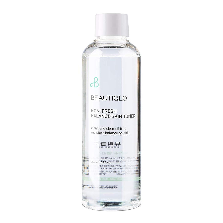 寄託カナダライセンス韓国化粧品 BEAUTIQLO NONI FRESH BALANCE SKIN TONER ビューティクロ ノニフレッシュバランススキントーナー 化粧水