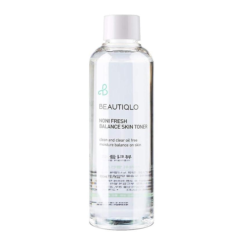 ヒントフリル必須韓国化粧品 BEAUTIQLO NONI FRESH BALANCE SKIN TONER ビューティクロ ノニフレッシュバランススキントーナー 化粧水