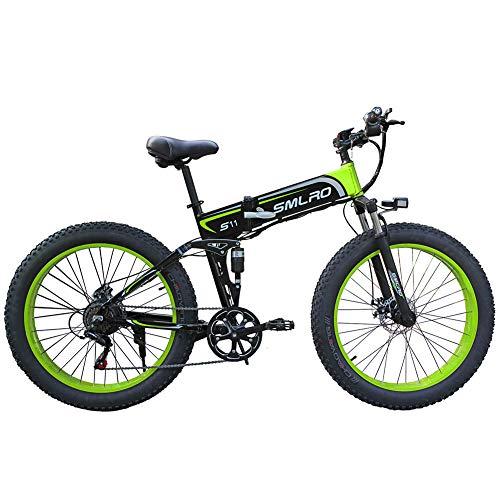 WFIZNB Elektro-Mountainbikes, 1000W...