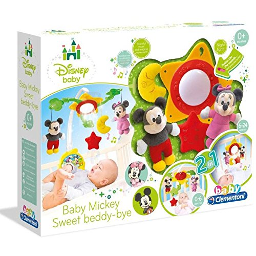 Clementoni - 14374-Mobile Mickey-PREMIER AGE DISNEY BABY