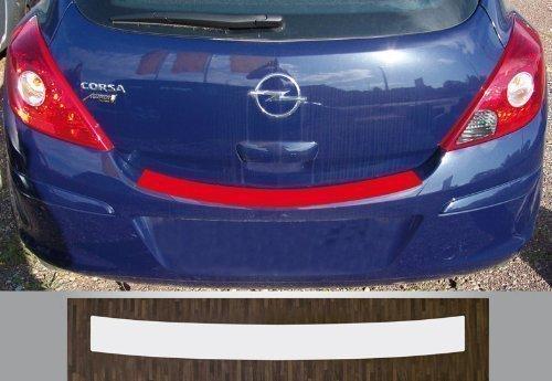passgenau für Opel Corsa D, Bj. 06-14 Lackschutzfolie Ladekantenschutz transparent