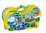 PLAYMOBIL 1.2.3 - Maletín Zoo y Acuario (6792)