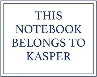 This Notebook Belongs to Kasper