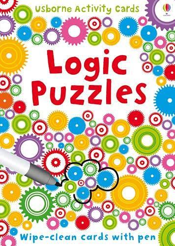 Logic Puzzles (Puzzle Cards + Pen)