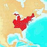 Navionics Hotmaps Platinum East Lake Fishing Maps