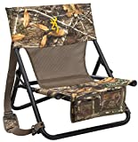 Browning Camping Woodland Hunting Chair, Realtree Edge, 19-Inch x 12-Inch x 21-Inch (8533401)