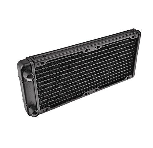 Thermaltake CL-W009-AL00BL-A Pacific R240 Wasserkühlungs-Radiator schwarz
