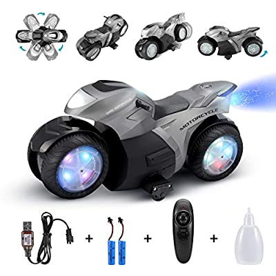 Amazon - Save 55%: RC Motorcycle for Kids,Remote Control Car Toy for Boy and Girl,360°…