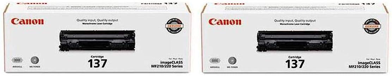 Canon 2X 137 Full Yield Cartridge for MF212w, MF216n, MF227dw, MF229dw Laser Printers