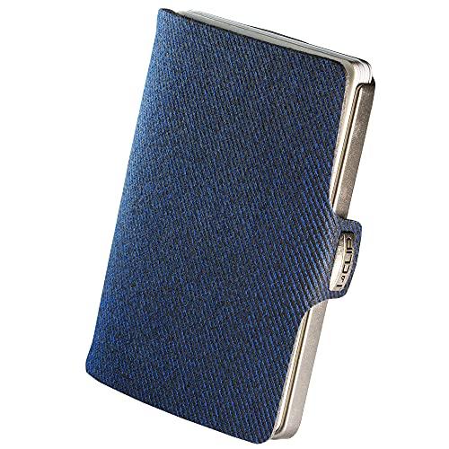 I-CLIP Original Silver Denim Blue Modell 2018, Geldbörse, Kartenetui, Wallet