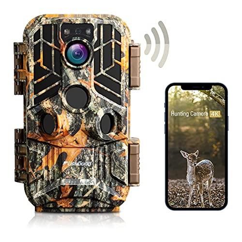 4K/30MP WiFi Trail Camera Bluetooth, usogood...