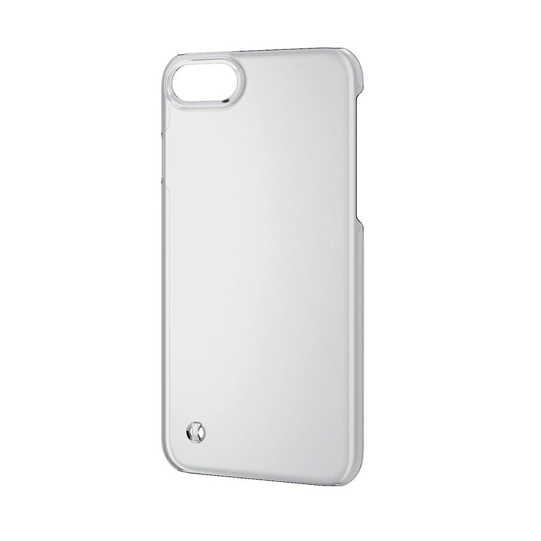 頭トランクライブラリ農業エレコム iPhone8 ケース カバー ハード ポリカーボネート素材 ストラップホール付き iPhone7 対応 クリア PM-A17MPVSTCR