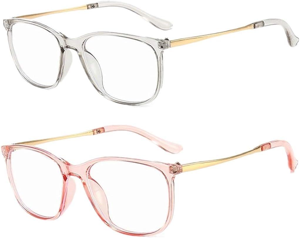 Unisex Blaulichtfilter Brille Computerbrille PC Gaming Bluelight Filter UV Blueblocker Glasses Verringerung der Augenbelastung