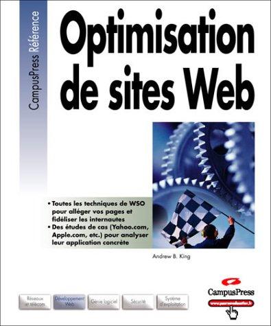 Optimisation de sites web PDF Books