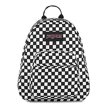 JanSport Half Pint Mini Backpack Finish Line Flag Print