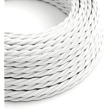 3x0,75 ue produit-vert-blanc points Premium textile tissu Câble Câble 2x0,75