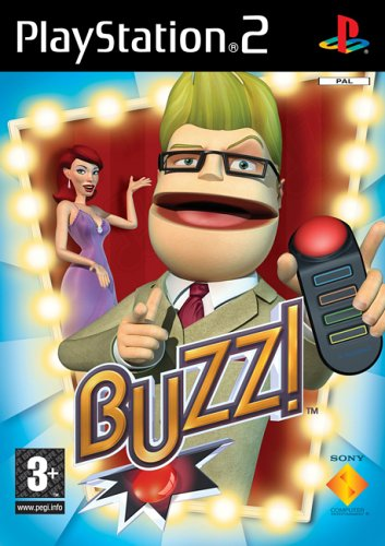 Buzz! The Music Quiz With Buzzers (PS2)