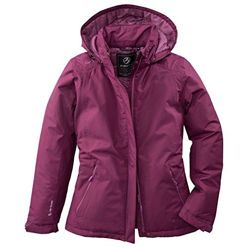 First B Damen Jacke wattiert Winterjacke Jacke Übergangsjacke modern farbig