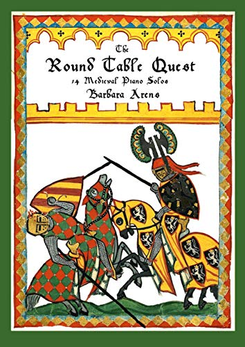 The Round Table Quest: 14 Medieval Piano Solos (English Edition)